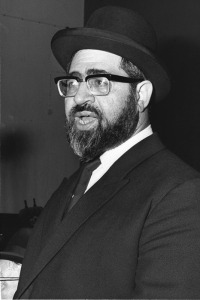 Rav Ovadia as a young man